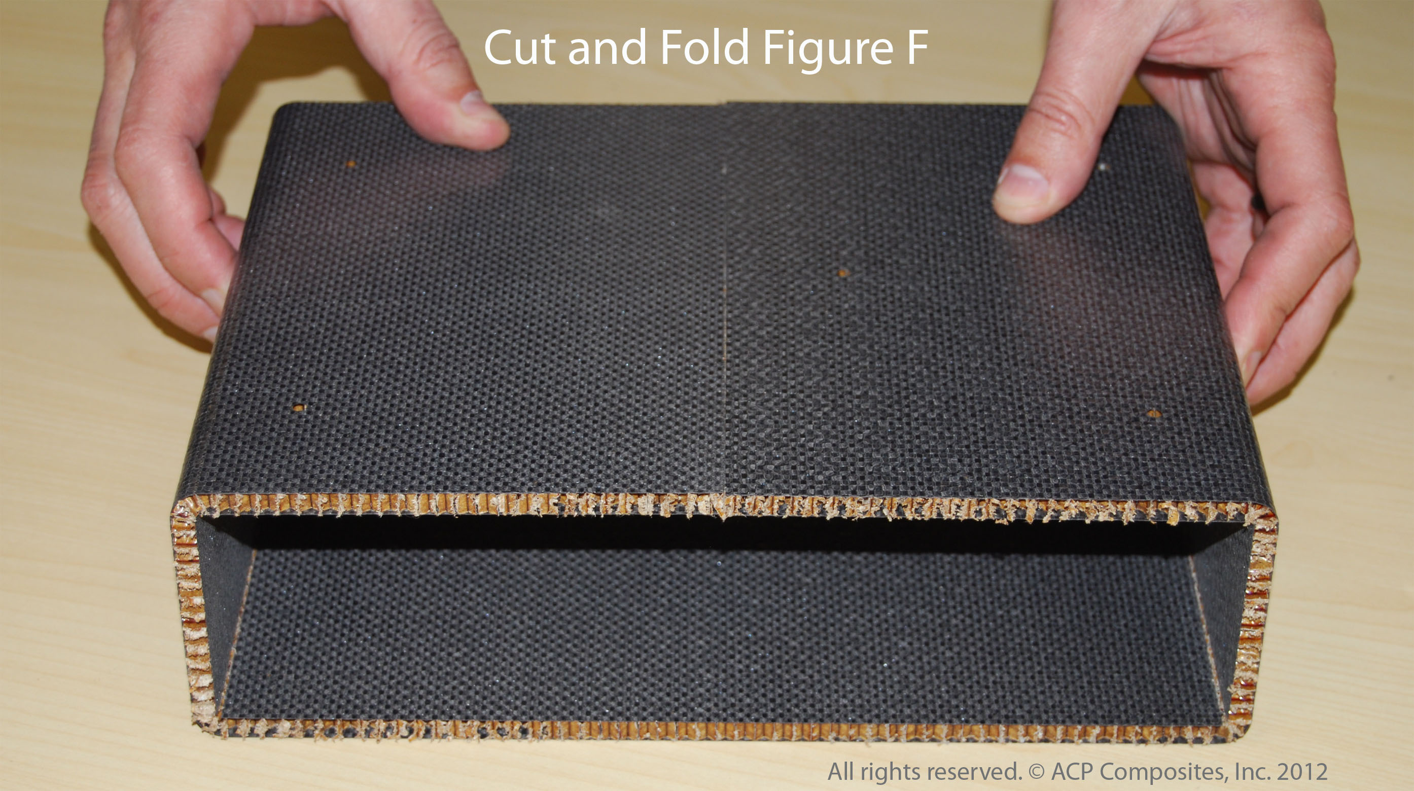Cut and Fold Figure F
