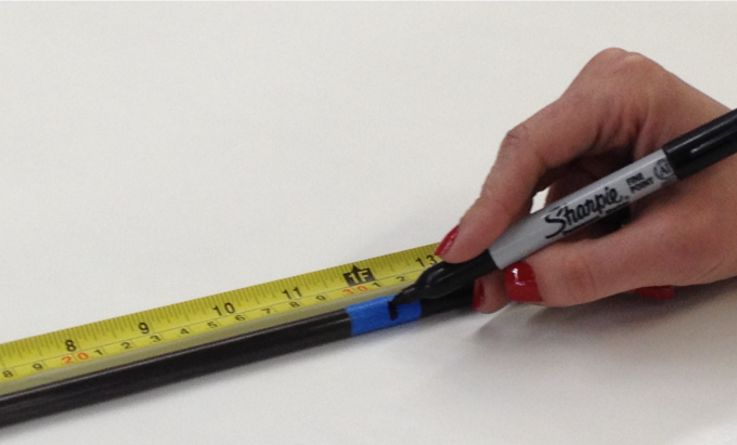 Cutting Rods and Tubes - Measure and Mark